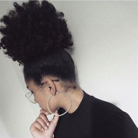 wearnig afro puff to formal event 8 26 inch afro kinky curly ponytail human hair