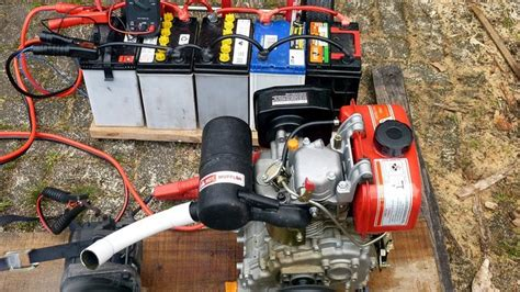 homemade generators  running small appliances