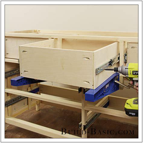 build  diy  drawer dresser build basic