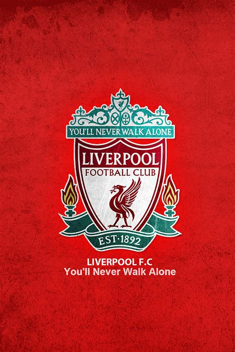 wallpaper iphone liverpool freeios7 liverpool fc alone parallax hd iphone ipad