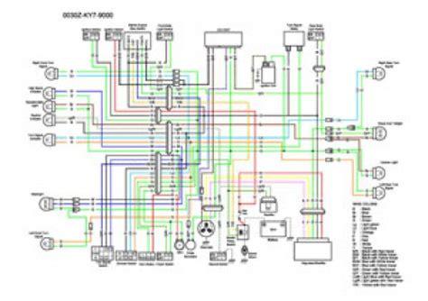 honda nx color wiring diagram