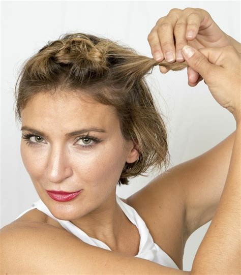 julianne hough updo step by step step 6 summer beauty how to julianne hough s short hair