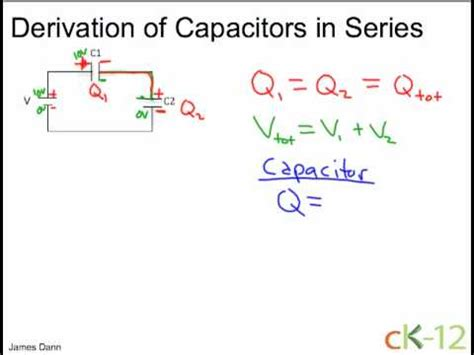do you add capacitors in series electric circuits capacitor ck 12 foundation