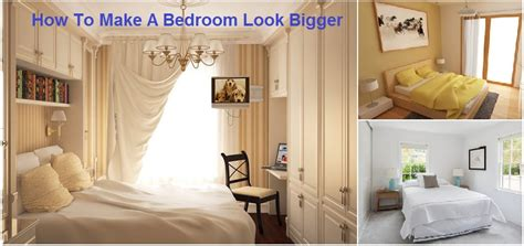 make a small bedroom look bigger 12 ways to make a bedroom feel bigger home design