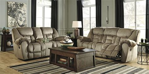 reclining living room furniture sets jodoca driftwood reclining living room set from