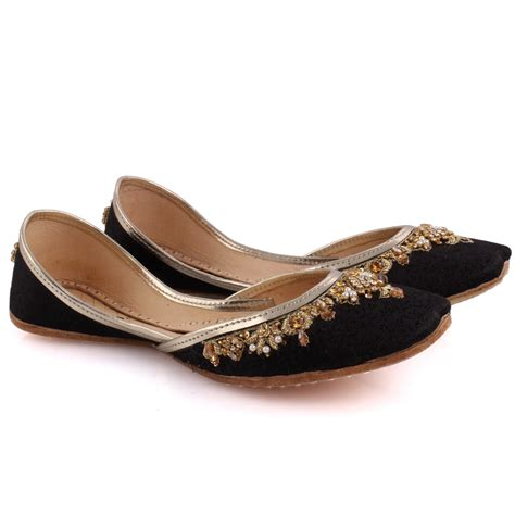indian slippers unze s beryl embellished indian khussa slippers uk
