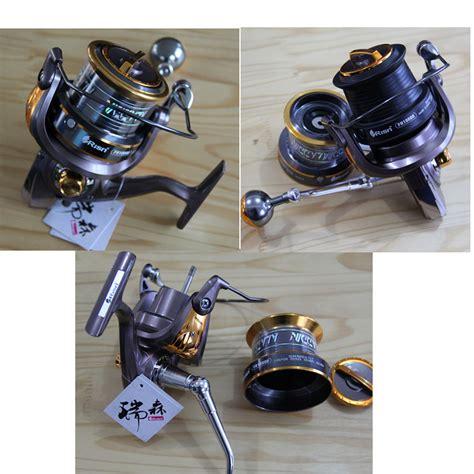 Spining Reel Maguro 8000 14 Bearing Laris risn fh10000 9000 8000 sea fishing reel 14 bearing metal spinning wheel