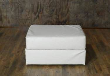 Lovesac Ottoman by Lovesac White Lounge White Rental Furniture For