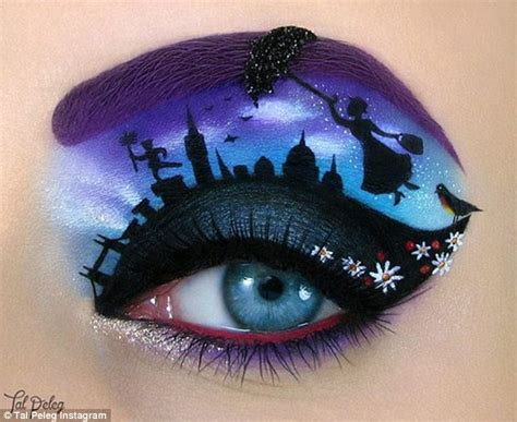 instagram make up artist tal peleg creates fairy tale