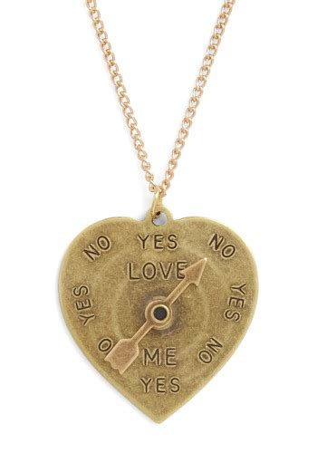 answer me honestly necklace mod retro vintage necklaces