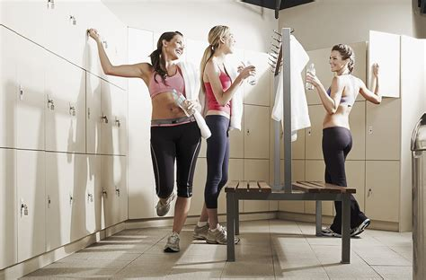 womens locker room locker room hacks to save time at lunch popsugar fitness
