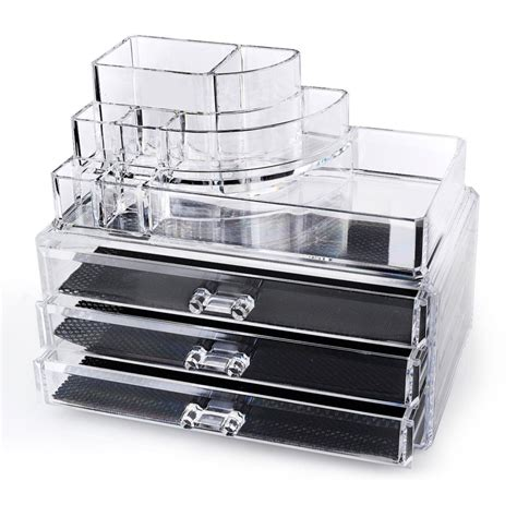 Organizer Kotak Organizer Make Up Organizer Kotak Kosmetik countertop acrylic makeup organizer on sale 74