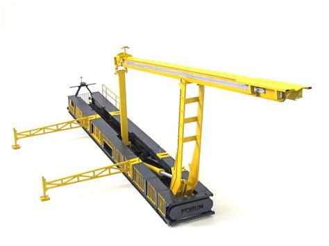 3d House Maker land rig catwalk model with articulation kiwimill model