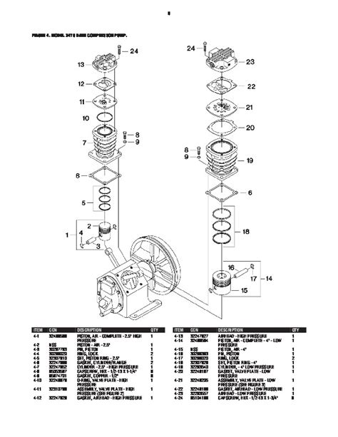 ingersoll rand parts diagram ingersoll rand compressor parts diagram automotive parts