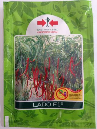 Bibit Cabe Lado F1 jual benih cabe keriting lado f1 cap panah merah
