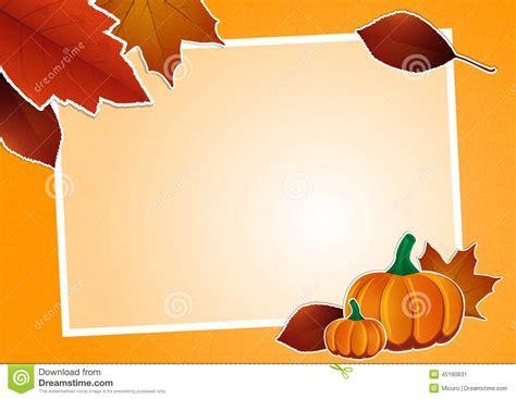 cornice autunno cornice di autunno illustrazione vettoriale immagine