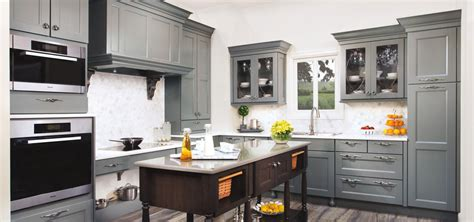 Metal Kitchen Cabinet by The Psychology Of Why Gray Kitchen Cabinets Are So Popular