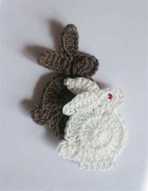 pin easter bunny free patterns and bunny motifs on pinterest easter bunny applique pattern free crochet patterns