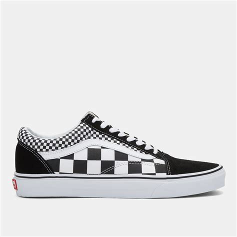 checkered sneakers vans skool mix checkered shoe sneakers shoes
