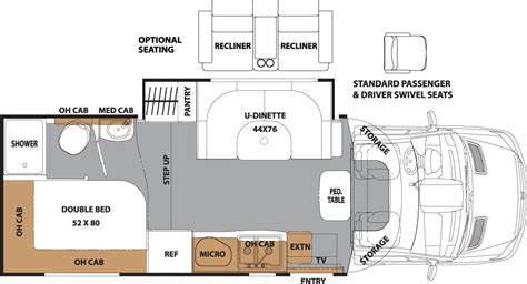coachmen class c motorhome floor plans 24 excellent coachmen class c motorhome floor plans