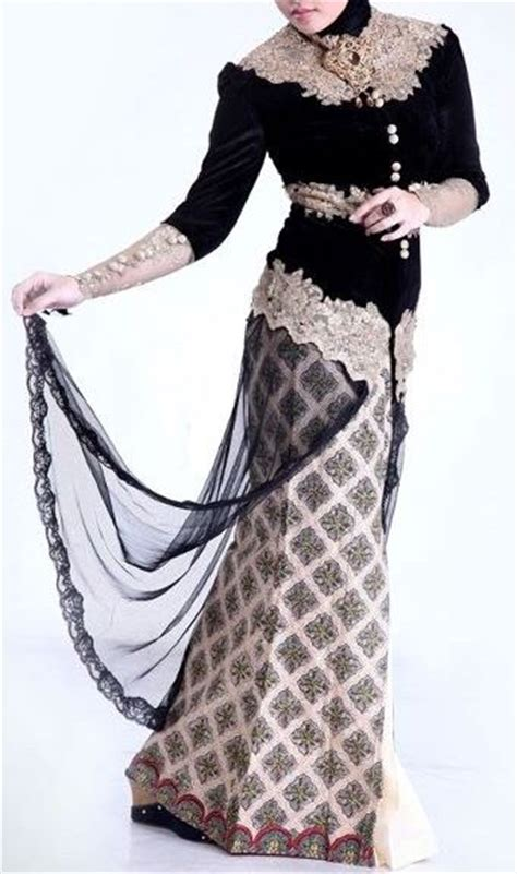 Dress Batik Dbk 05 Hitam koleksi model dress muslim terbaru incaran para hijabers