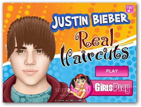 haircuts games justin bieber haircut game