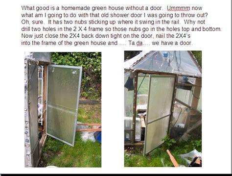 green house door cordell vail s greenhouse building tips