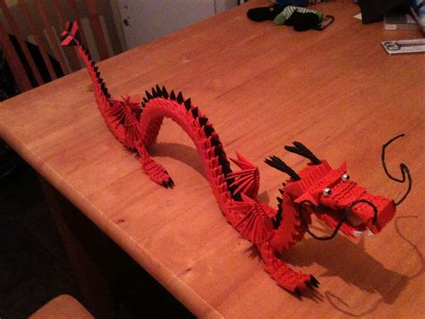 3d origami chinese dragon tutorial chinese dragon jpg album keith padden 3d origami art