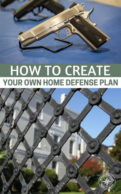 how to create your own home defense plan