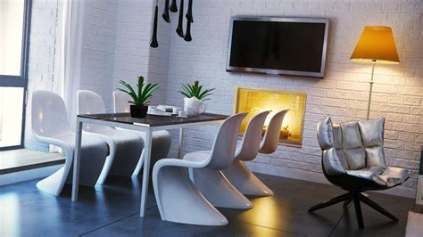 black white yellow dining room design olpos design
