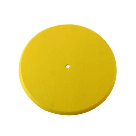 yellow discs yellow wood disc swing seat treeswingstore