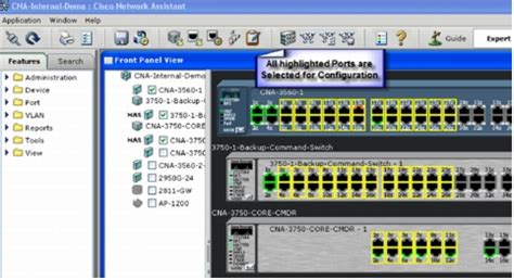 Cisco Network Assistant Quick Tips Cisco Network Switch Port Diagram Template