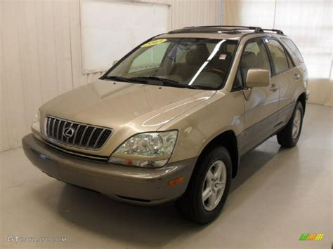 gold lexus rx 2003 burnished gold metallic lexus rx 300 46967092 photo