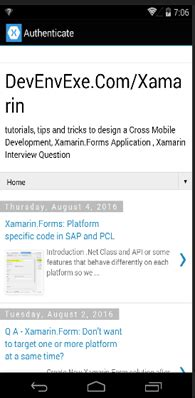 xamarin oauth tutorial oauth login authenticating with identity provider in