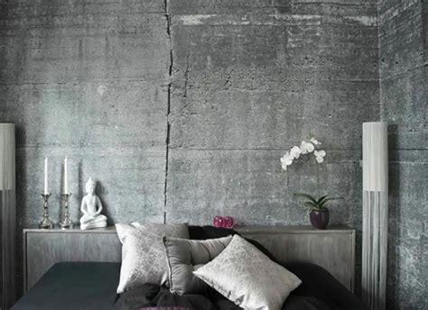 id馥 d馗o mur chambre le b 233 ton ou la griffe tendance du design contemporain