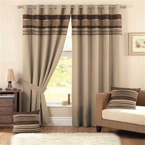 Modern Curtain Designs For Bedrooms Ideas Simple Modern Bedroom Design With Wood Window And Brown Drapes Beside Rattan Chair With White