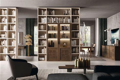 librerie contemporanee pareti attrezzate ferretti ferretti