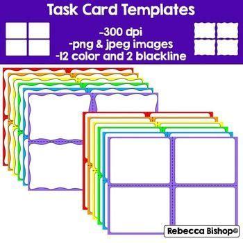 creating task card templates asana free task cards templates classroom ideas