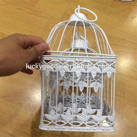 hanging small decorative wire bird cage wholesale