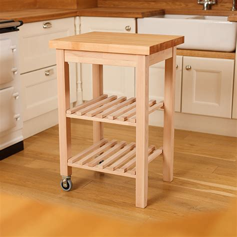 kitchen butchers block trolley wooden kitchen trolleys butcher block trolley worktop
