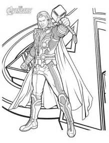 thor colors thor coloring pages to print the
