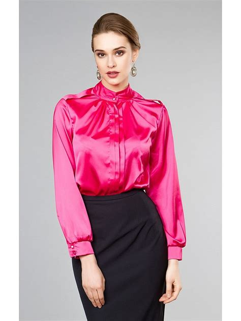 More Satin Looks by Satin Blouse Collars And Fashion 5 Satin