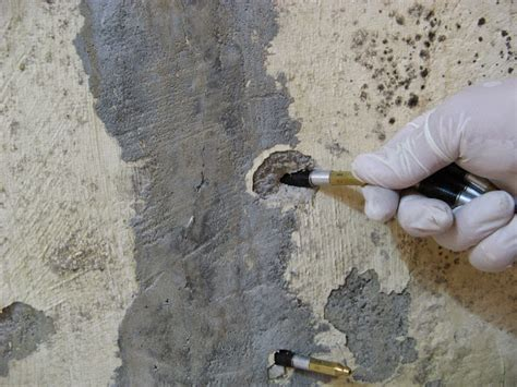Hairline And Actively Leaking Water Concrete Crack Repair