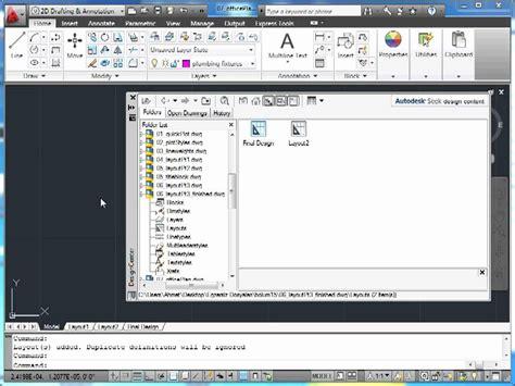 layout autocad 2011 autocad 2011 16 plotting 07 layout ları yeniden