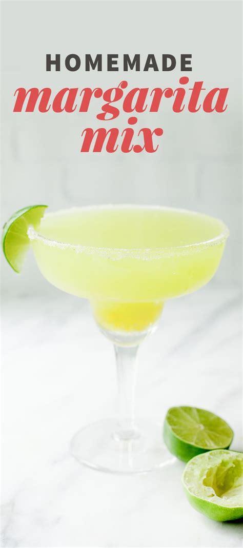 Handmade Margarita - best 20 margarita mix ideas on margarita