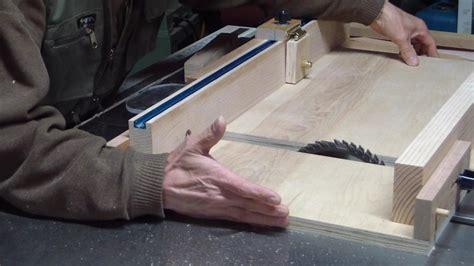 adjustable table  sled  simongee  lumberjockscom