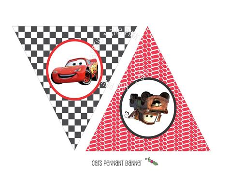 printable cars birthday decorations printable cars lightning mcqueen themed happy birthday