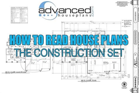 how to read building plans how to read house plans the construction set