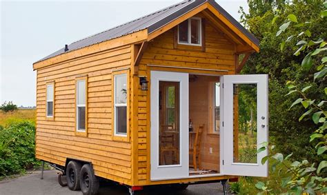 micro living homes cabin in the woods edition tiny house by tiny living homes