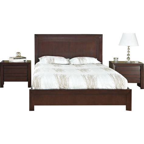 bed headrest buy teak wood bed with high headrest chaumont online in